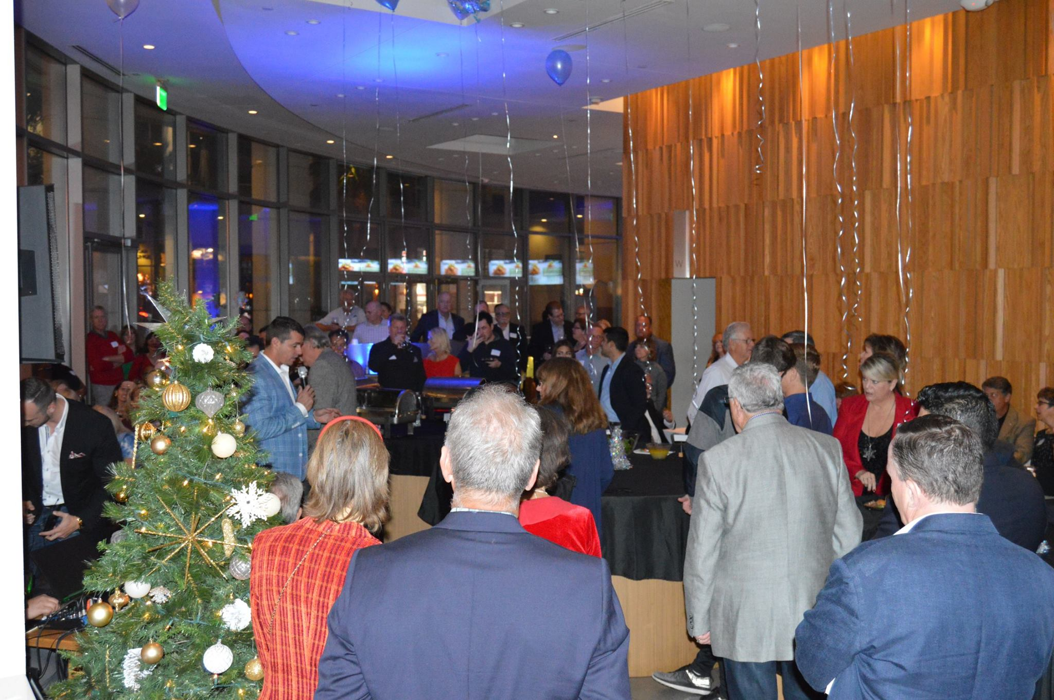 NuView Client Networking Holiday Event